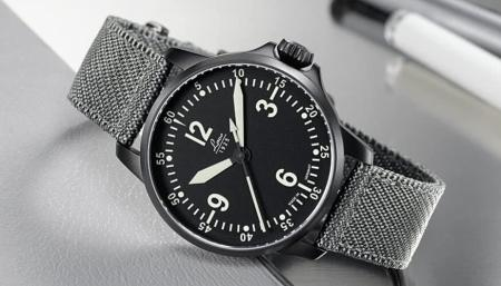 Laco Bell X-1 Pilot Watch Type C 42mm - Automatic