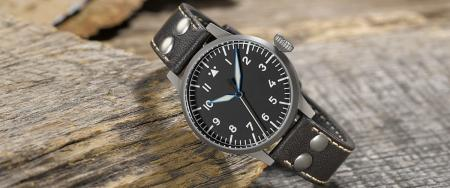 Laco Heidelberg Pilot Watch Type A 39mm - Automatic