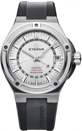 Eterna Royal KonTiki GMT 7740.40.11.1289 Herrenuhr Automatik