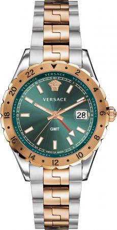 Versace Hellenyium GMT V11050016 Mens Watch