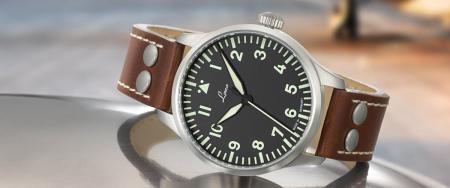 Laco Augsburg Pilot Watch Type A 39mm - Automatic