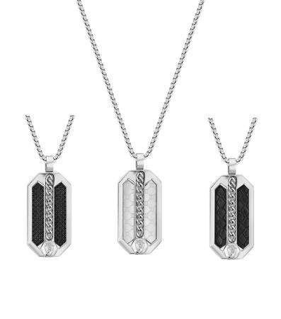Police Besar PEJGN2009201 Necklace with pendant - set