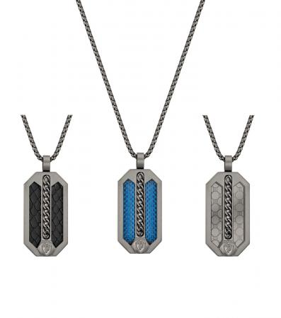 Police Besar PEJGN2009202 Necklace with pendant - set