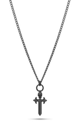 Police Kudos PEJGN2112802 Necklace with cross pendant