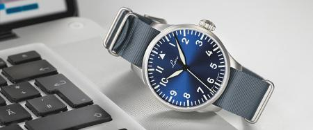 Laco Augsburg Blaue Stunde Pilot Watch Type A 39mm - Automatic