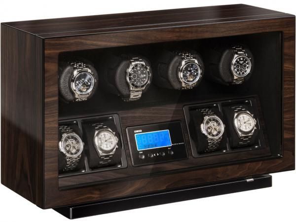 beco bldc uhrenbeweger f r 4 uhren walnuss uhren. Black Bedroom Furniture Sets. Home Design Ideas